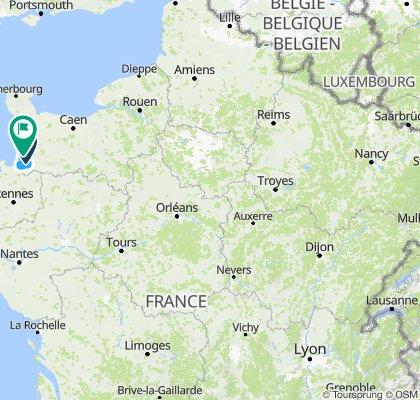 Tour d'Europe - m13