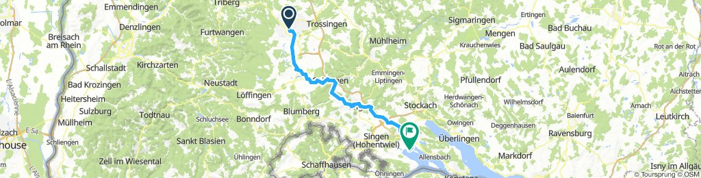 VS-Aulfingen-Engen-Radolfzell am Bodensee