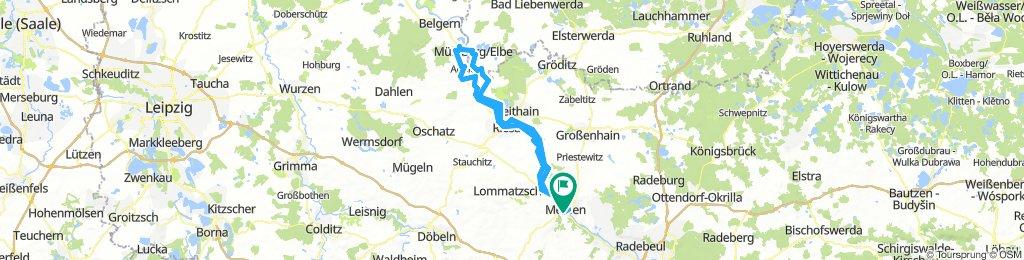 Meißen-Runde 3: Beidseits der Elbe bis Mühlberg