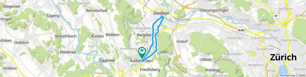 Rudolfstetten - Dietikon Zentrum