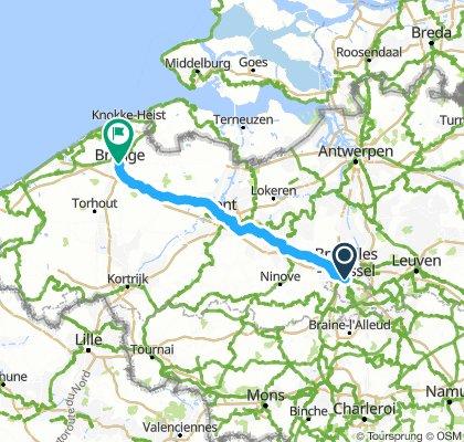 Brussels > Bruges