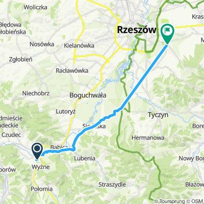 Rzeszów - Pstrągowa - Strzyżów - Rzeszów