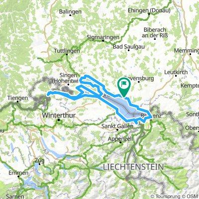 Bodensee Umrundung (Rheinfall)
