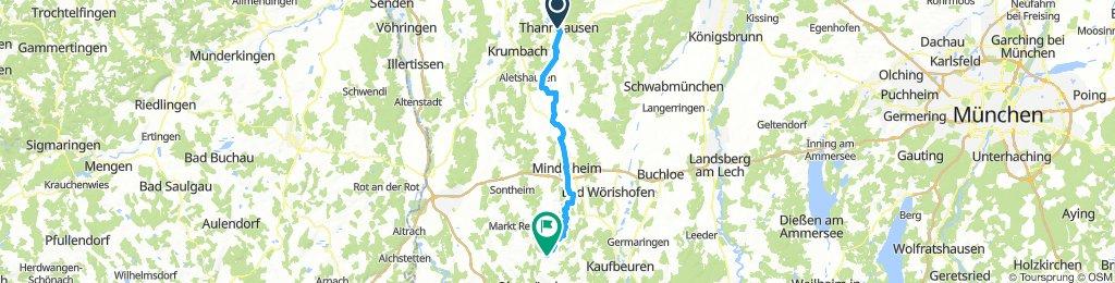 Thannhausen - Mindelquelle