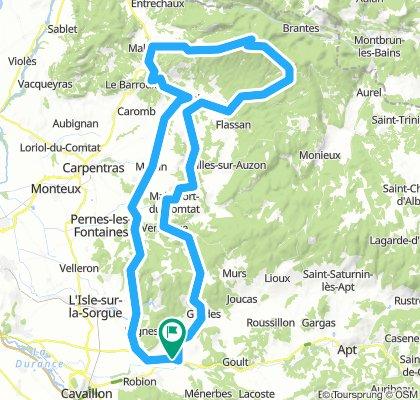Jas de Garrigue - Bedoin - Mont Ventoux