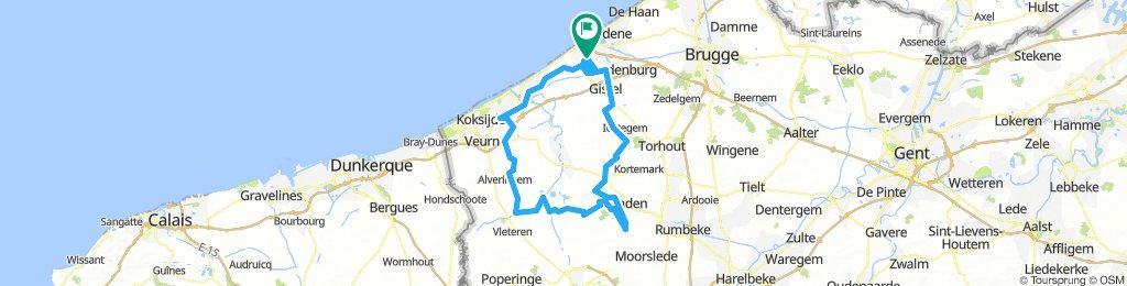 B rit 11 mei 120 km