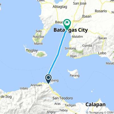 J78B - jeudi 28 mars 2019 - Puerto Galera Muelle Port – Batangas Port – traversée en bateau