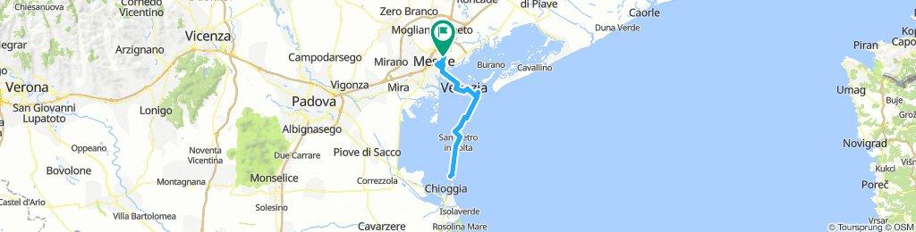 Lido e Pellestrina (60 km totali)