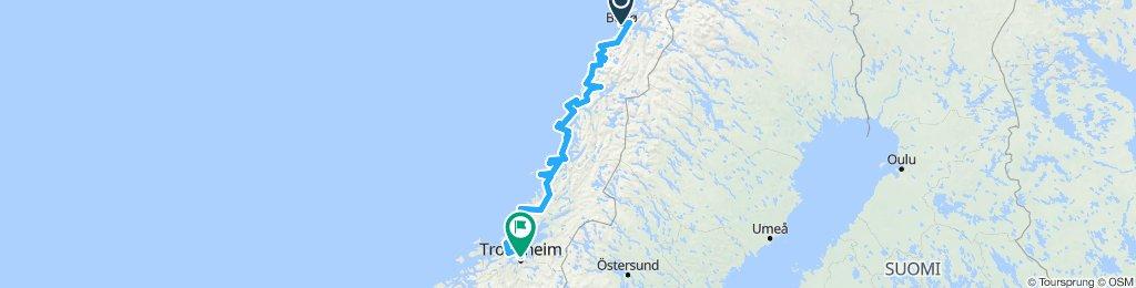 Bodø - Trondheim
