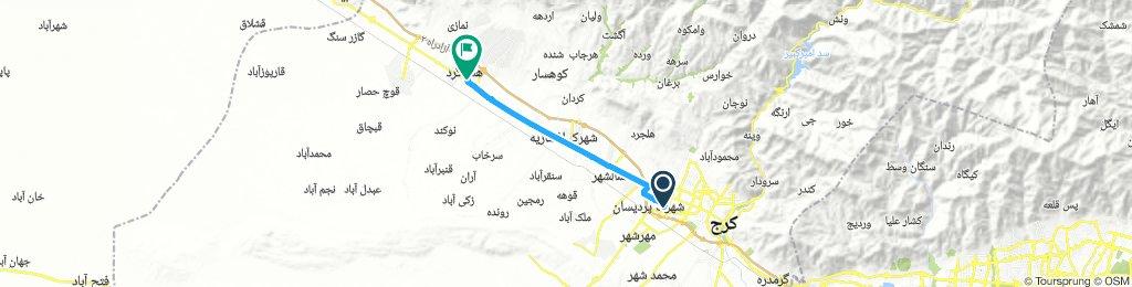 مترو گلشهر تا هشتگرد