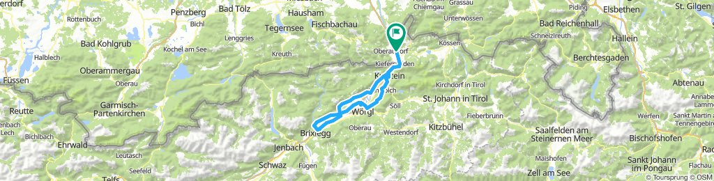 Einfache Fahrt in Niederndorf