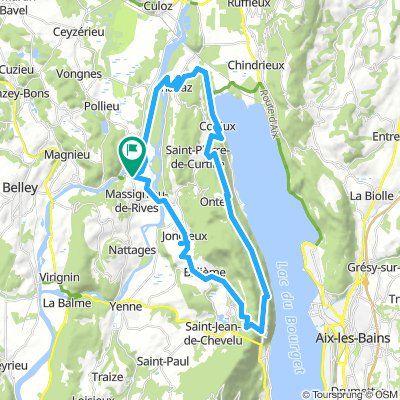 Chanaz - Lac du Bourget