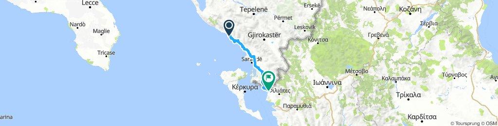 Hilmare - Sagiada (arrivée grèce)