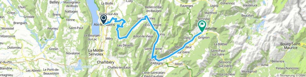 Aix-les-Bains - Albertville