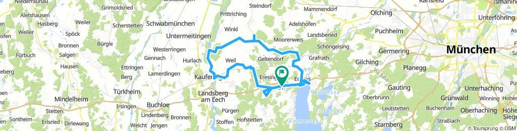 Von Greifenberg an den Lech