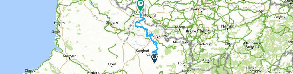 Paris-Roubaix Challenge 2019 172 km