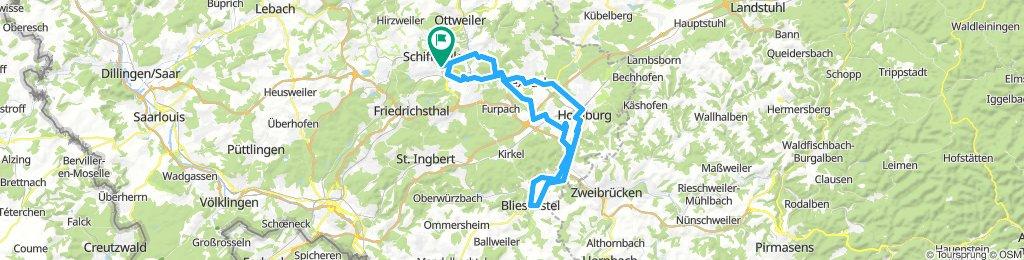 gemütlicher Ausflug in Schiffweiler