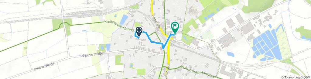 Gemütliche Route in Lehrte