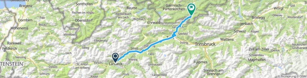 Landeck - Mittenwald