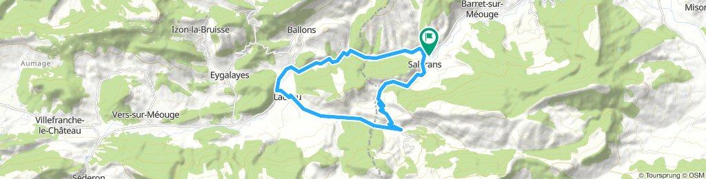 Col d'Araud & Lachau 20km Loop