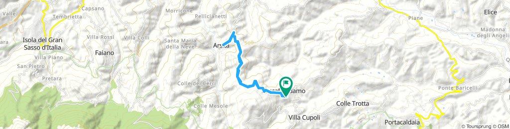 Roccafinadamo - Arsita