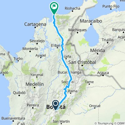 Bogota/Santa  Marta   21/30 mars
