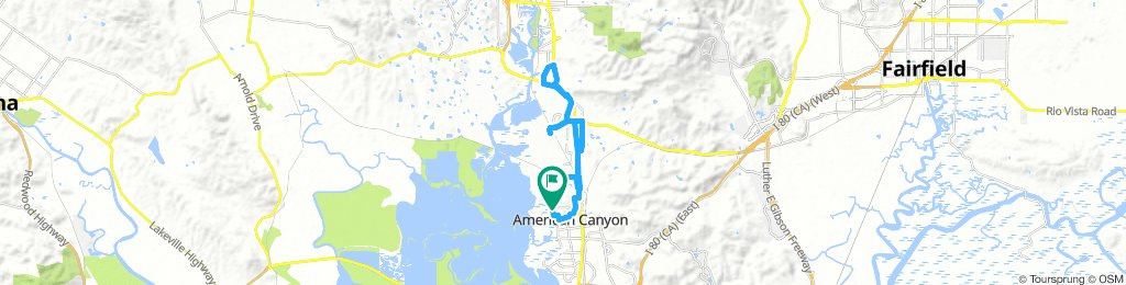 American Canyon to the Crusher Loop
