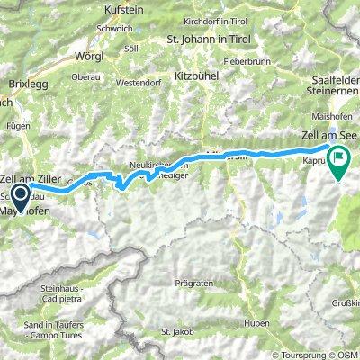 Mayrhofen - Fusch a.d. Großglocknerstr.