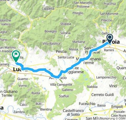 Pistoia - Lucca