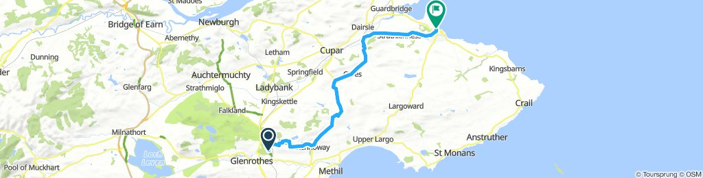 Markinch to St. Andrews