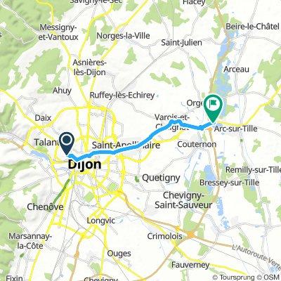 Dijon-Arc sur Tille