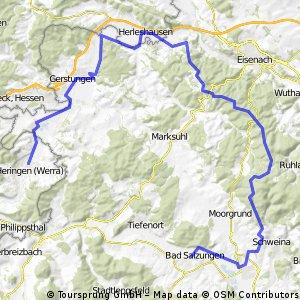 Werratalweg+Rennsteig
