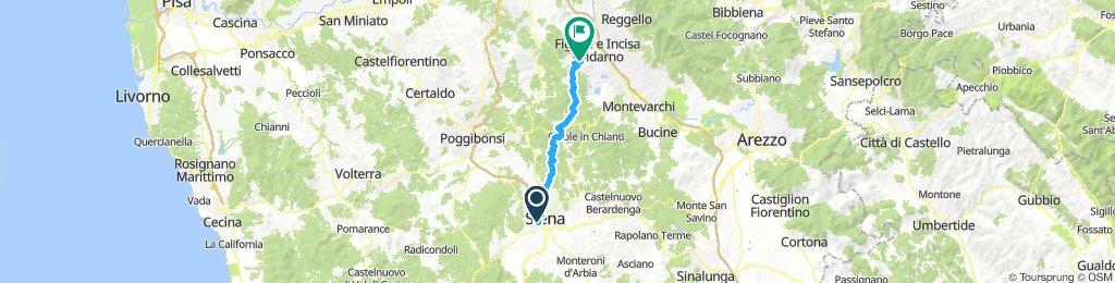 Siena - Figline Valdarno