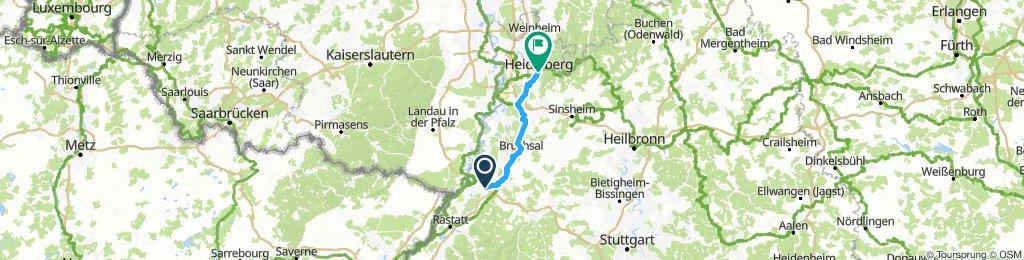 Karlsruhe - Heidelberg