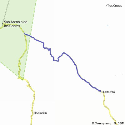 Santa Rosa de Tastil - Intersection RN51/RN40