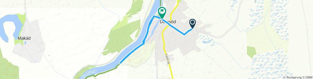 Snail-like route in Domsod
