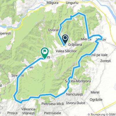 Grajdana - Ojasca - Saseni - Monteoru - Istrita - Varf - Tisau