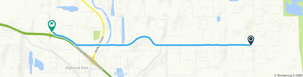 bike path hurst rd