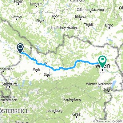Passau to Vienna