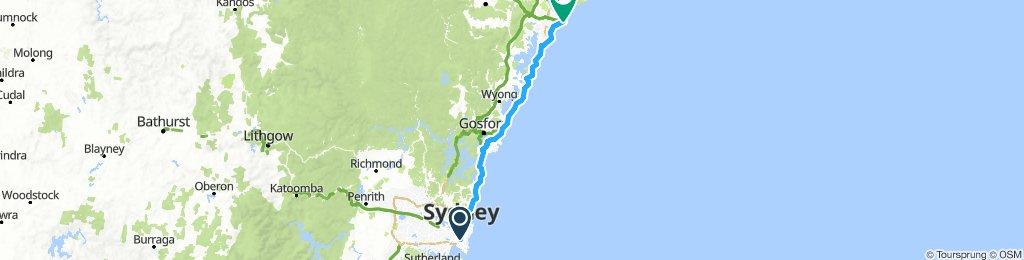 Sydney-Newcastle