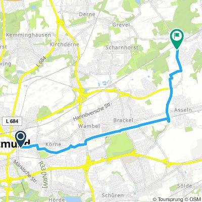 Ministrecke von Dortmund-City nach Dortmund-Kurl