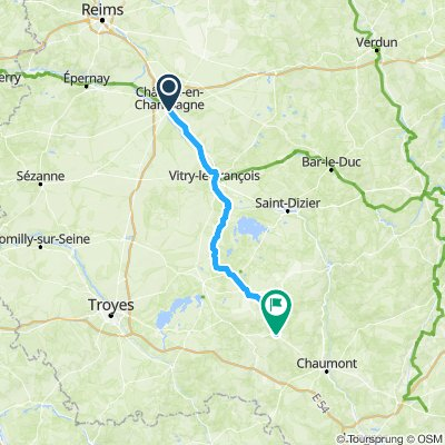 Thursday 23 May Day 4 : Chalons-en-Champagne to Colombey-les-deux-Eglises