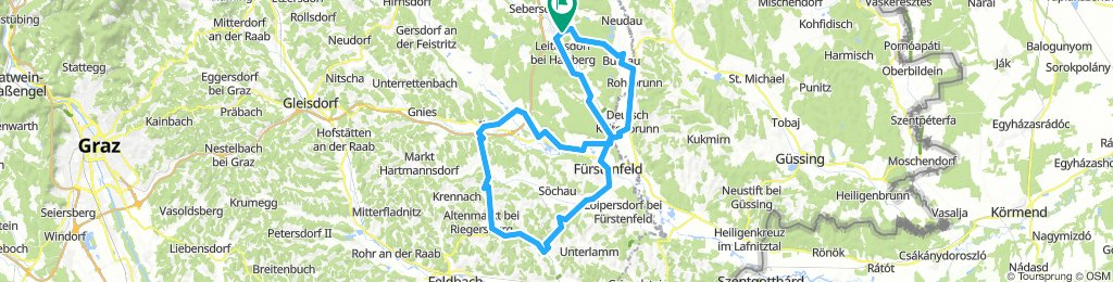 Riegersburg-Runde ab Heiltherme Bad Waltersdorf