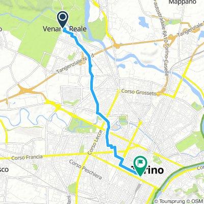 Dalla Reggia di Venaria alla sede di Turin Bike