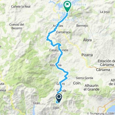 Marbella 2019 El Chorro lake tour