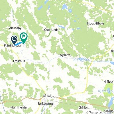 Fjärdhundralandsleden / Fjärdhundraland bike route