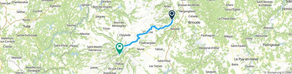 Blesle - Mandailles-Saint-Julien