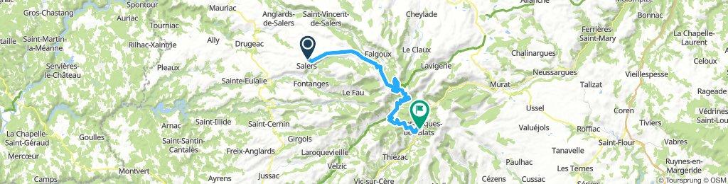 Salers - Saint-Jacques-des-Blats