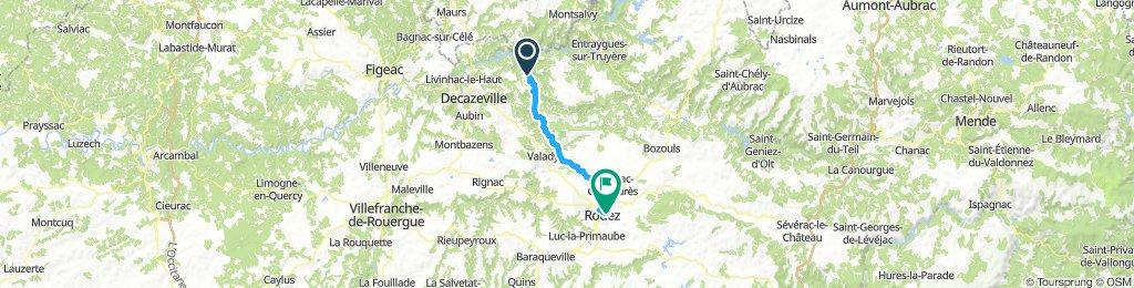 Conques - Rodez