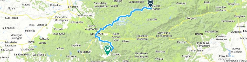 La Salvetat-sur-Agout - Pradelles-Cabardès